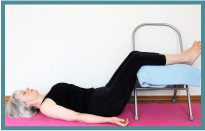 01 Savasana with chair