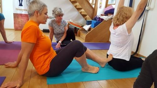 Yoga Intermediate Hannah Lovegrove Iyengar Yoga